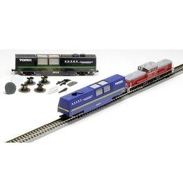 TOMYTEC TomyTec Schienenreinigungswagen TOMIX blau (Staubsaugerfunktion)