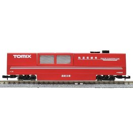 TOMYTEC TomyTec rail cleaning trolley TOMIX red (vacuum cleaning function)