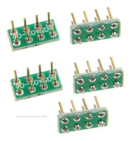 UHLENBROCK Uhlenbrock 71651 8-pins aansluitstekker NEM652 (5 stuks)