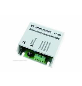 UHLENBROCK Uhlenbrock 41200 ABBS Optrek- en afremmodule