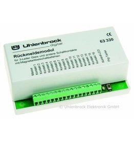 UHLENBROCK Uhlenbrock 63330 LocoNet 3-Leiter Rückmeldemodul