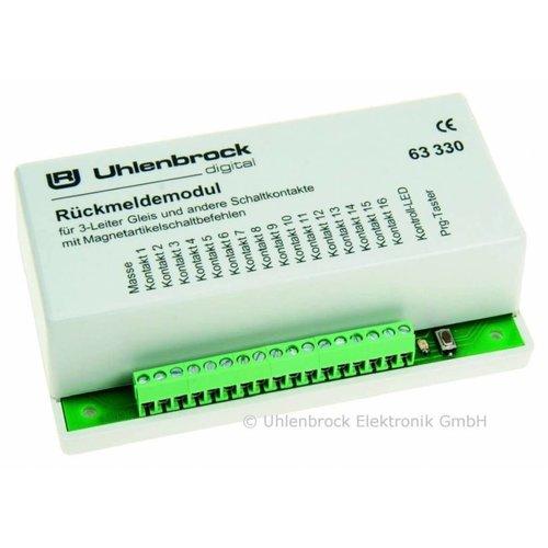 UHLENBROCK Uhlenbrock 63330 LocoNet Terugmeldmodule 3-Rail