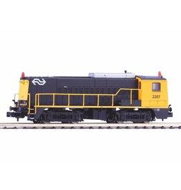 DTS SPECIAL PIKO 40444 NS 2207 DTS Special met knipperlichten en cabineverlichting