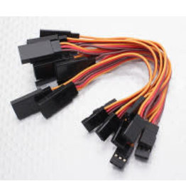 HOBBYKING Servo extension cable 10 cm (1 piece)