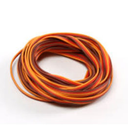 HOBBYKING Servo draad 5 meter (Rood/Bruin/Oranje)