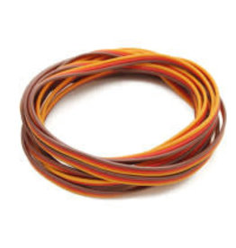 HOBBYKING Servo wire 2 meter (Red / Brown / Orange)
