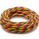 HOBBYKING Servo wire Twisted 2 meter (Red / Black / Yellow)