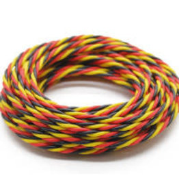 HOBBYKING Servo wire Twisted 2 meter (Red / Black / Yellow)