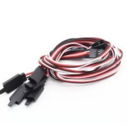 HOBBYKING Servo extension cable 100 cm (1 piece)