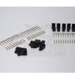 HOBBYKING Servo plug set (10 pairs)