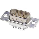SUB-D Connector soldeerkelk male 9-pins