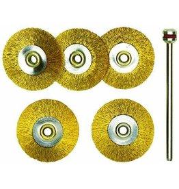 PROXXON Proxxon Copper brush set 5 pieces