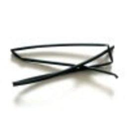 CELLPACK Heat shrink tubing black 3/1 per meter