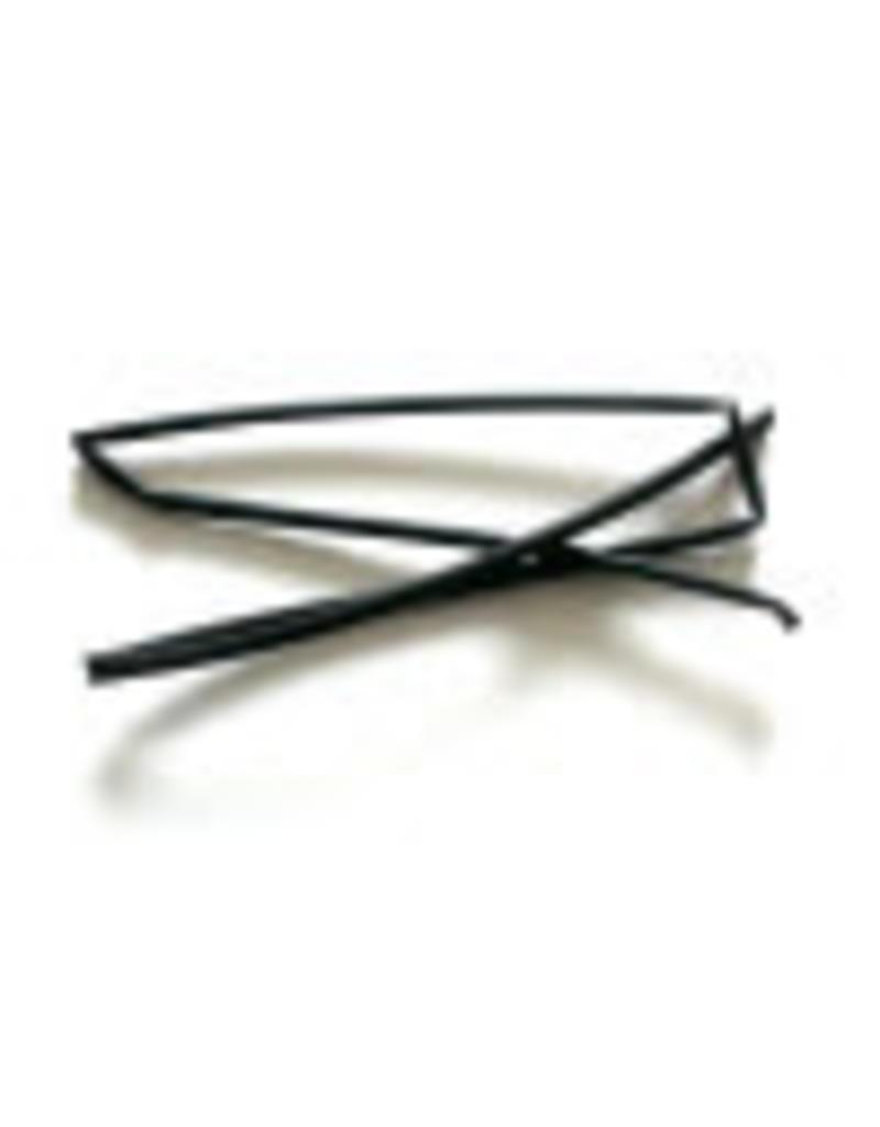 CELLPACK Heat shrink tubing black 2.4 / 1.2 per meter