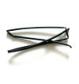 CELLPACK Heat shrink tubing black 3.2 / 1.6 per meter