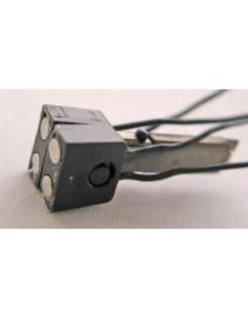 PEHO KKK PEHO 3040 Magneetkoppeling stroomvoerend 4-polig (2 stuks) H0