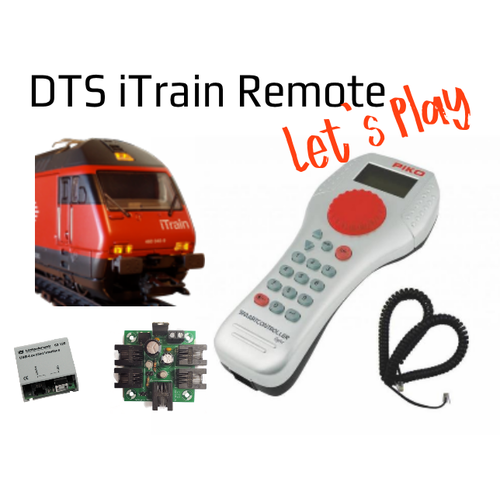 DTS DTS iTrain Remote SmartControll