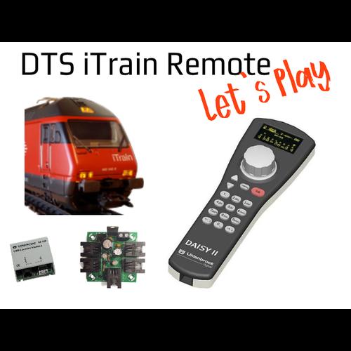 DTS DTS iTrain Remote Daisy II
