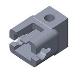 SD MODELL SD Model 1606 koppelingsadapter voor bladrichtveer