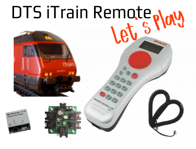 DTS iTrain Remote