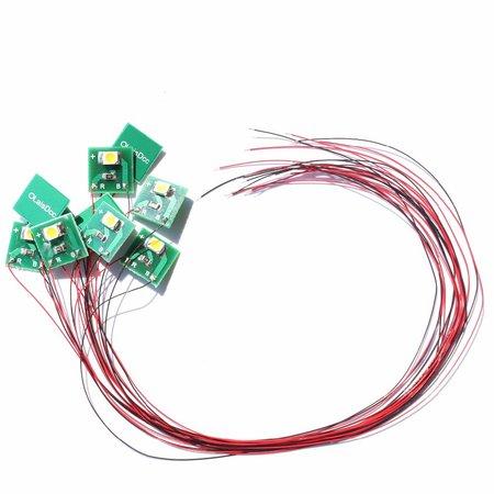 LAISDCC LaisDCC 860025 SMD LED Lichtset Warmweiß (1 Stück)