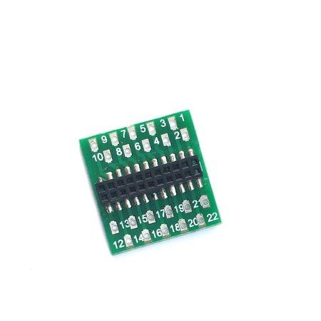 LAISDCC LaisDCC 860035 21MTC/Plux22 adapter board