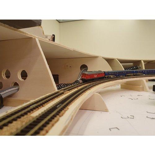 DTS DTS Schienenauslegerplatte 10-teilig