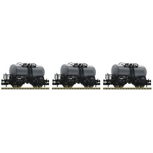 FLEISCHMANN 841601 3-delige set tankwagons, DR (N )
