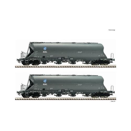 FLEISCHMANN 849002 2-delige set silowagons, KVG (N )