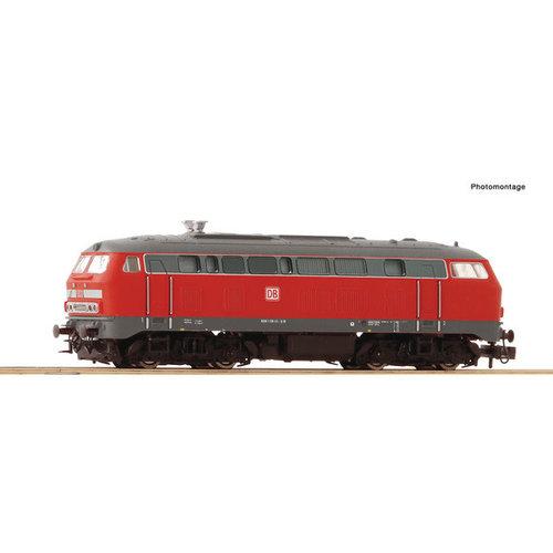 FLEISCHMANN Fleischmann 724298 - Diesellocomotief BR 218, DB AG Digitaal met Sound