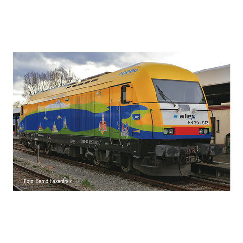 FLEISCHMANN Fleischmann 781901 - Diesellocomotief BR 223, alex