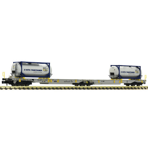 FLEISCHMANN 825015 Gelede dubbele Vrachtwagentrailerwagon, AAE (N )