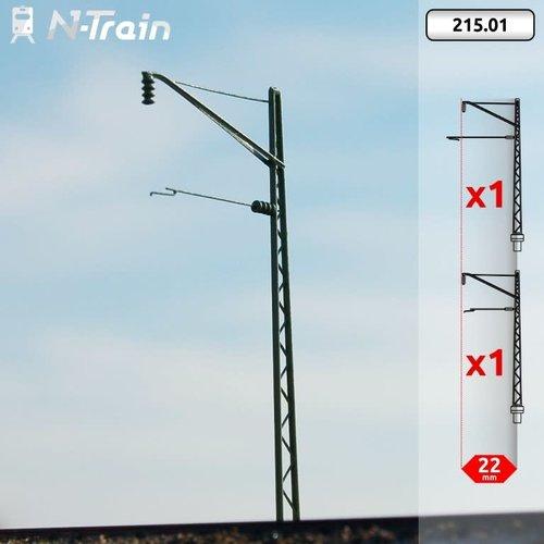 N-Train DRG - Rooster mast met beugel (2 stuks) (215.01)