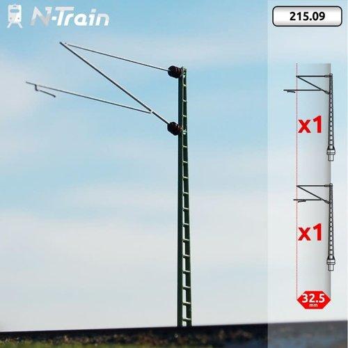 N-Train DB - Rooster mast met Re160 beugel - XL (2 stuks) (215.09)