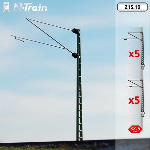 N-Train DB - Rooster mast met Re160 beugel - XL (10 stuks) (215.10)