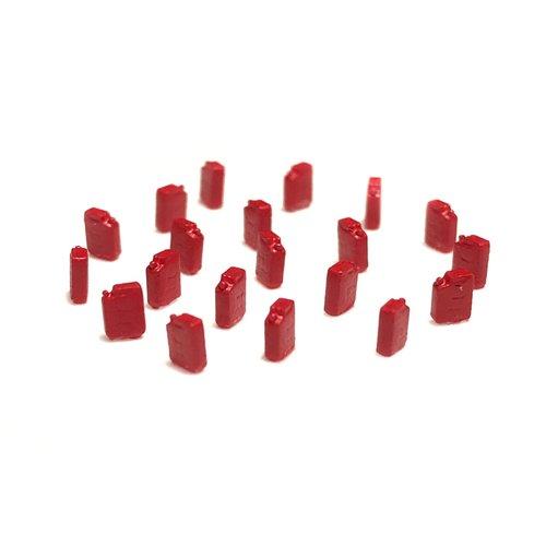 N-Train Brandstof jerrycans (20 stuks) - rood (211002)