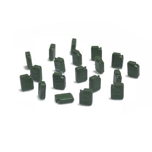 N-Train Brandstof jerrycans (20 stuks) - groen (211003)
