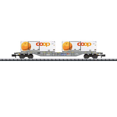 MINITRIX Containertransportwagon gekoeld transport (15469)