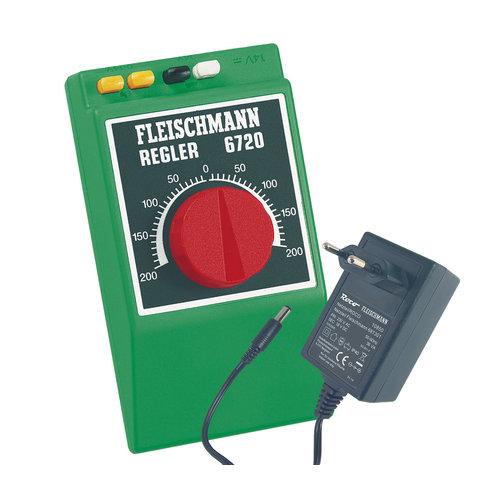 FLEISCHMANN 6725 Handrijregelaar analoog 0–14 V=/0,6 A (600 mA) ( acc.)