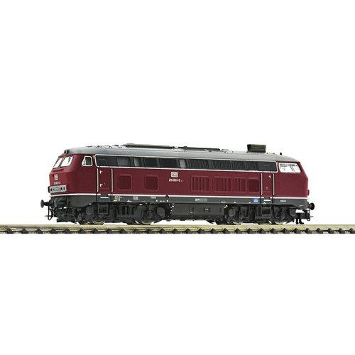 FLEISCHMANN 724290 Diesellocomotief BR 210, DB Digitaal met Sound (N )