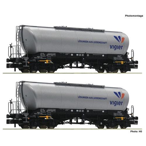 FLEISCHMANN 848905 2-delige set silowagon, Vigier Cement (N )