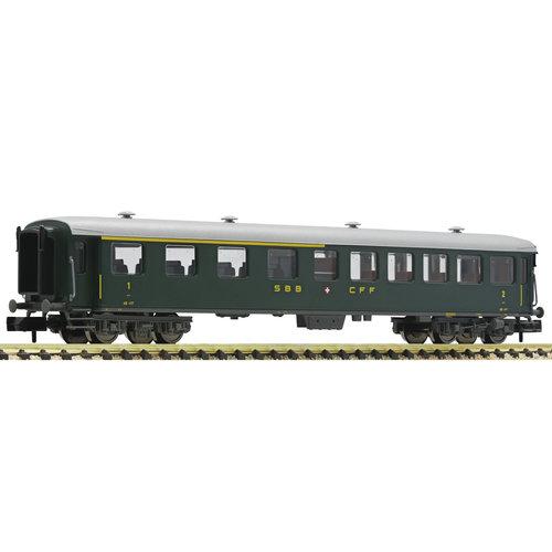 FLEISCHMANN 813804 Sneltreinrijtuig 1e / 2e Klasse, SBB (N )