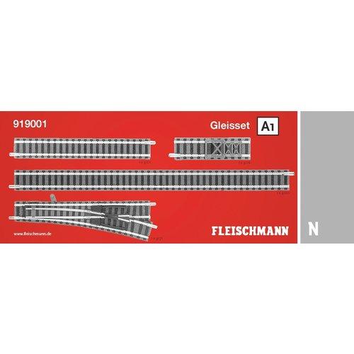 FLEISCHMANN 919001 Railuitbreidingsset A1 (N )