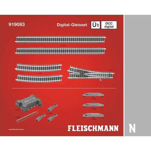 FLEISCHMANN 919083 railuitbreidingsset Ü1 digitaal (N PROFI)