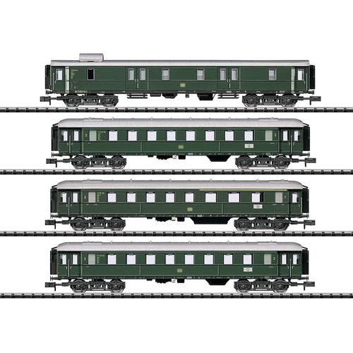 MINITRIX Set sneltrein rijtuigen DB (15015)