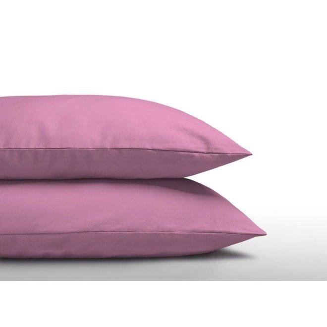 2-Pack: Kussenslopen Katoen Roze