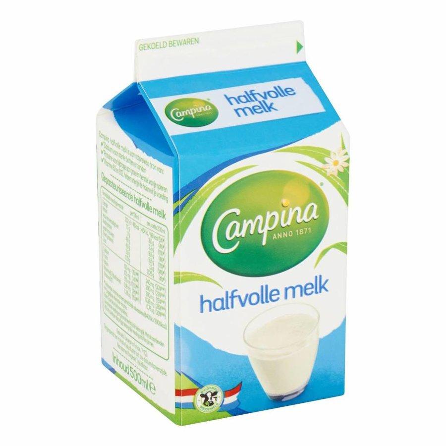 Campina halfvolle melk 50cl-1