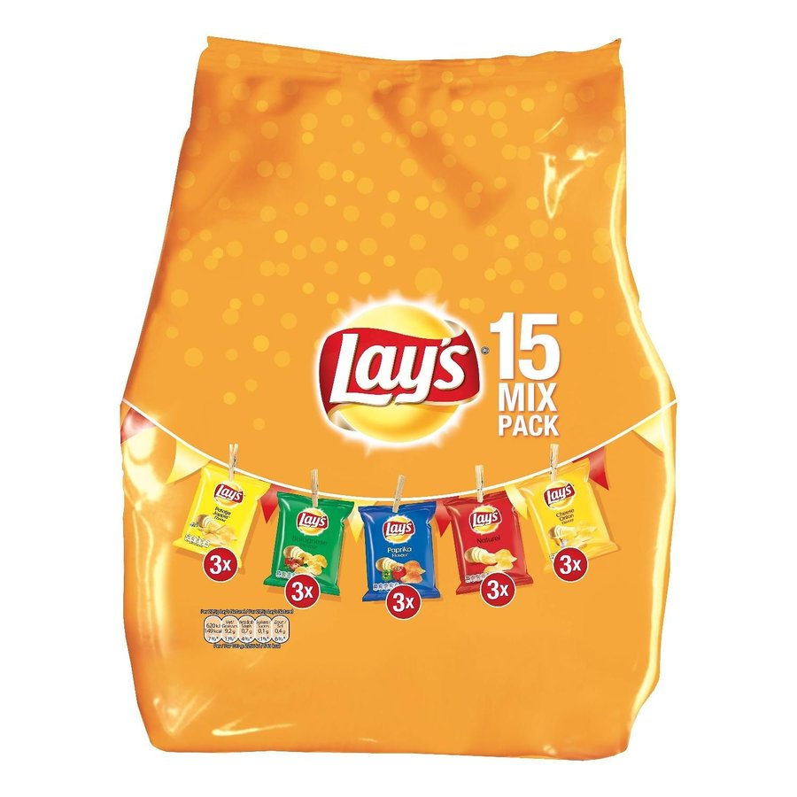 Lay's Chips mix pack 5 smaken-1