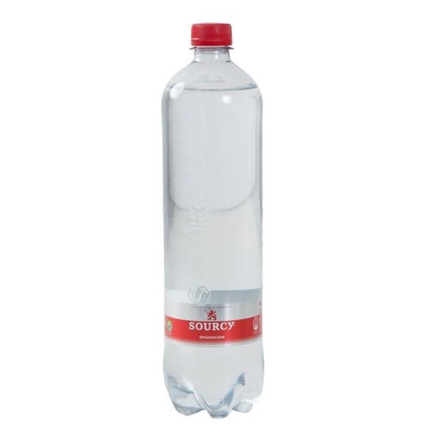 Sourcy Natuurlijk mineraalwater bruisend 1 liter-1