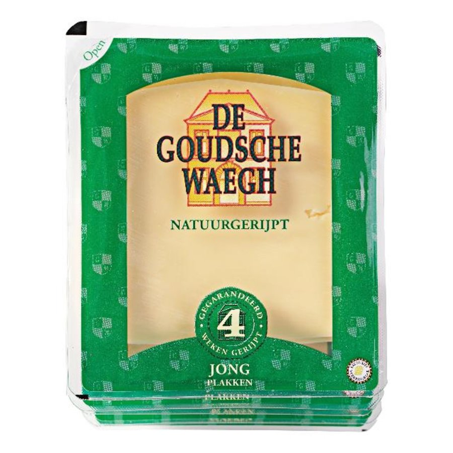 De Goudsche Waegh Jonge kaas gesneden-1